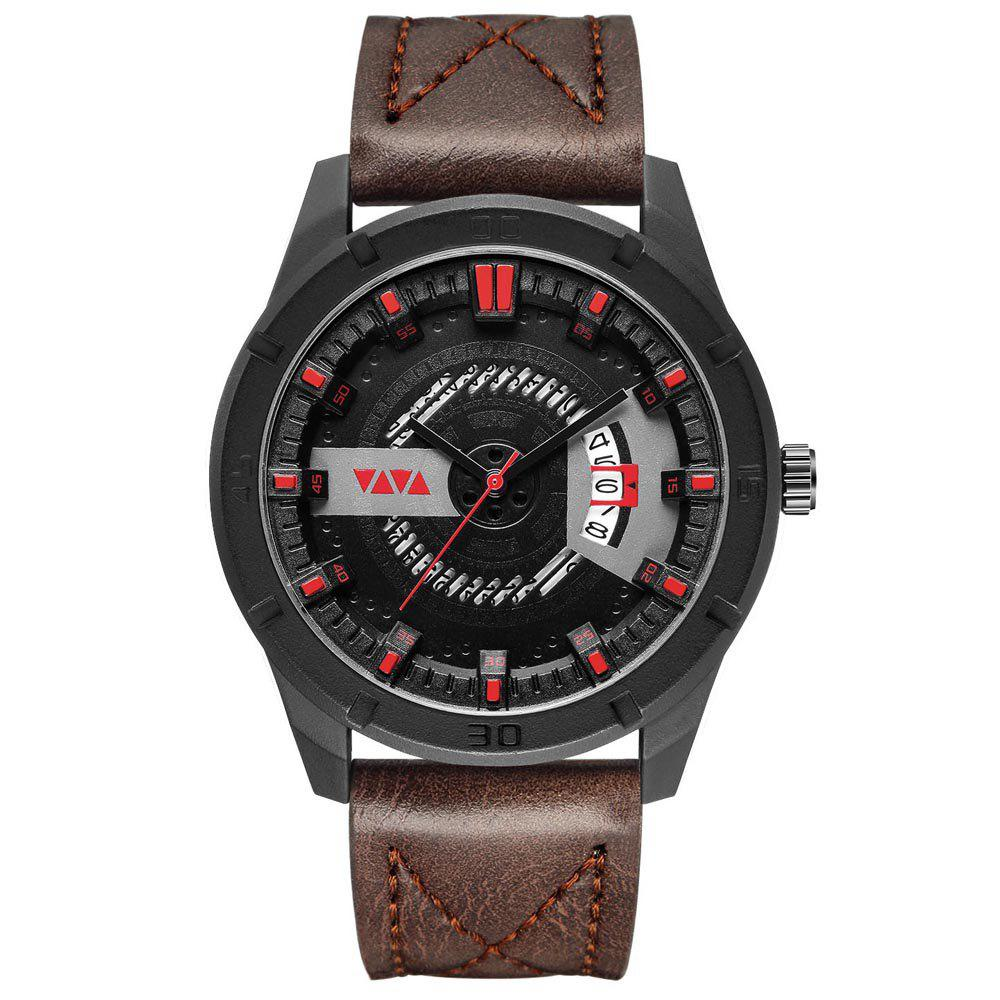 Outfit Men's Sports Leisure Fashion Quartz Calendar Watch