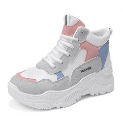 Autumn and Winter Thick Bottom Super Fire Old Shoes Sneakers -