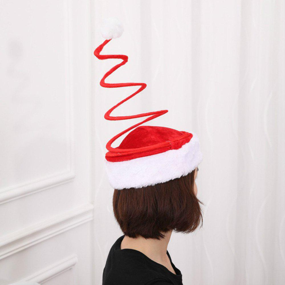best spiral spring santa hat novelty xmas christmas hats