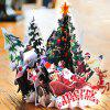 Christmas Tree 3D Greeting Card  Hand Card Blessing -