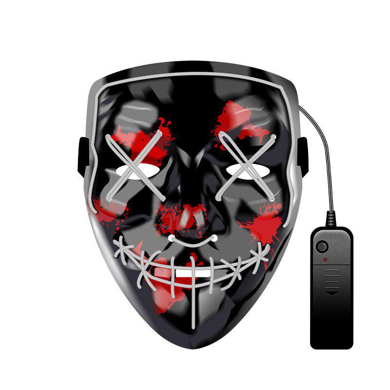 Fashion Christmas Mask EL LED Light up Purge Mask for Festival Cosplay Party