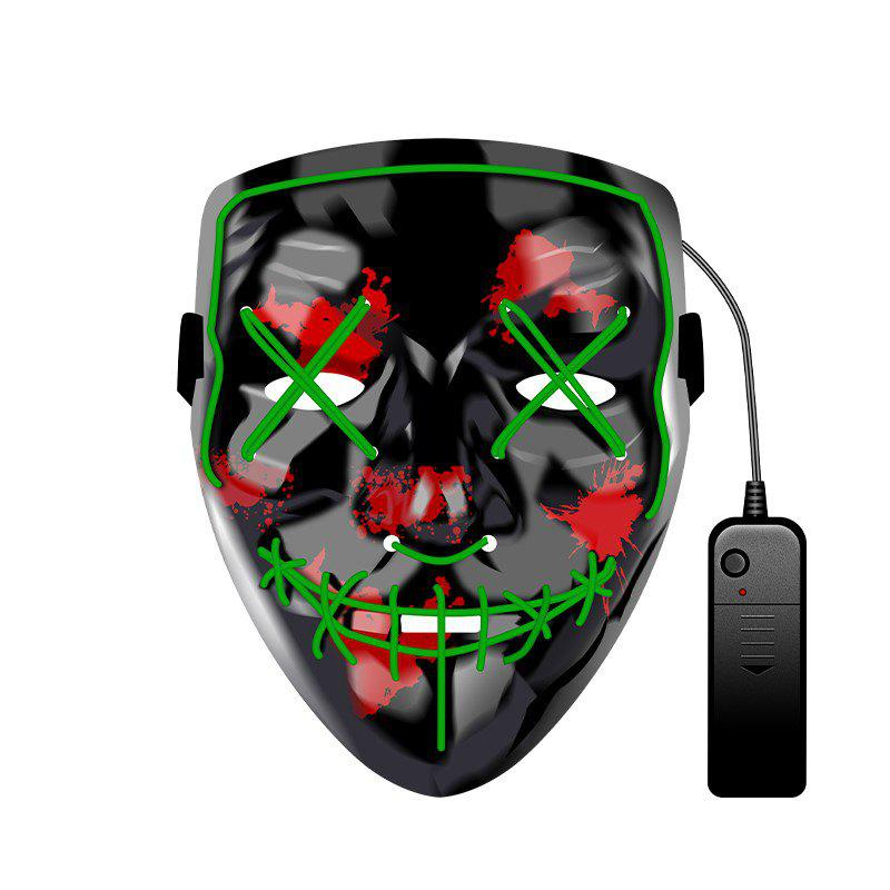 Hot Christmas Mask EL LED Light up Purge Mask for Festival Cosplay Party