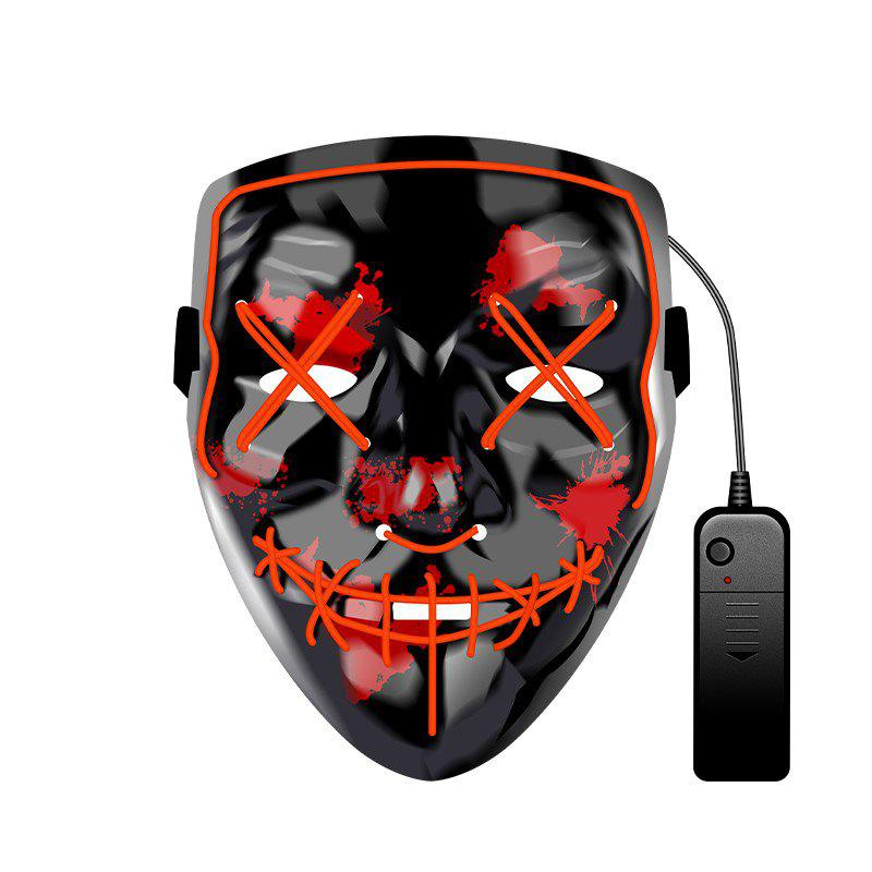 Buy Halloween Mask EL LED Light up Purge Mask for Festival Cosplay Halloween Party