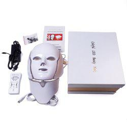 7 Colors Light LED Photon Mask Face Skin Rejuvenation Therapy Wrinkles -