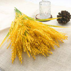 Rural Style Wheat Ears Rice Home Decoration Branch of Artificial Flowers -