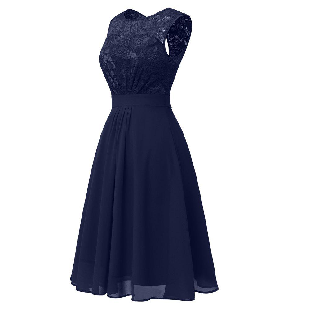 Discount Soft Ladies Sexy Lace Dress