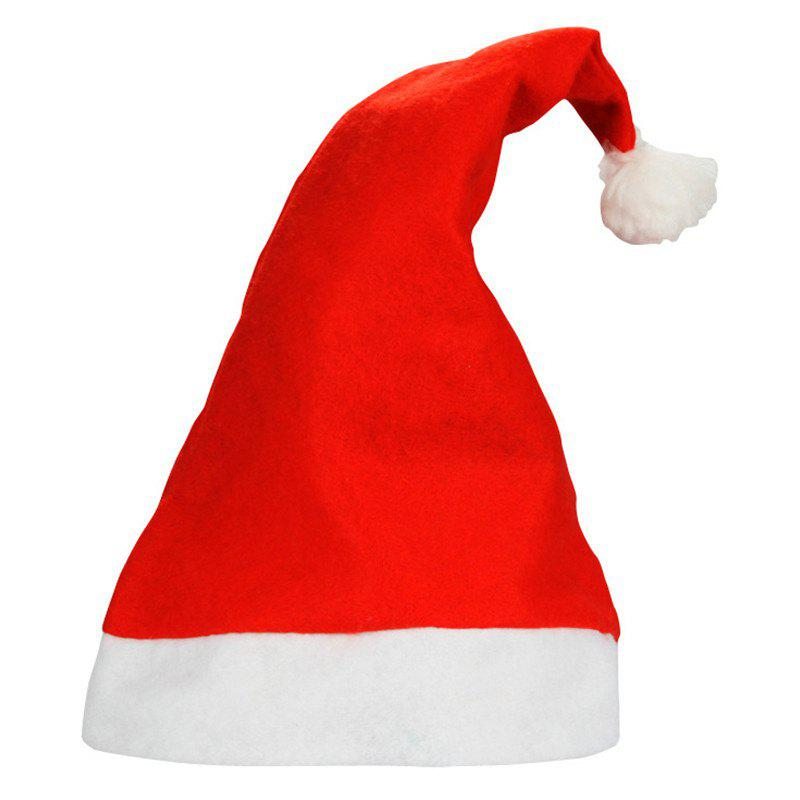 Online One Size Non Woven Santa Hat