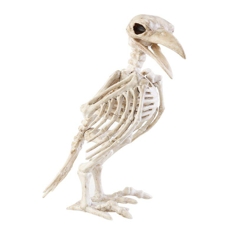 Store Simulation Raven Skeleton Skeleton Model Halloween Decoration Items Props