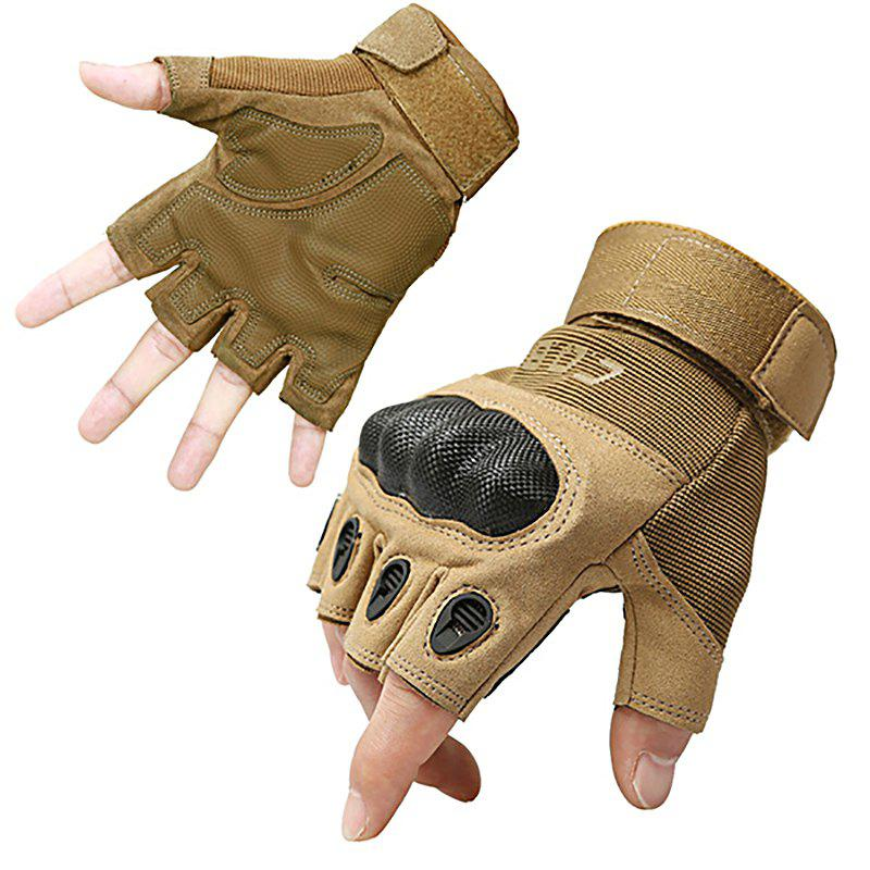 Outfit Men's Outdoor Tactics and Semi-full Finger O-slip Anti-slip Glove