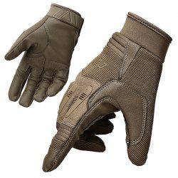 Men's Tactical Mountaineering Non-slip Breathable Wear-resistant Outdoor Gloves -