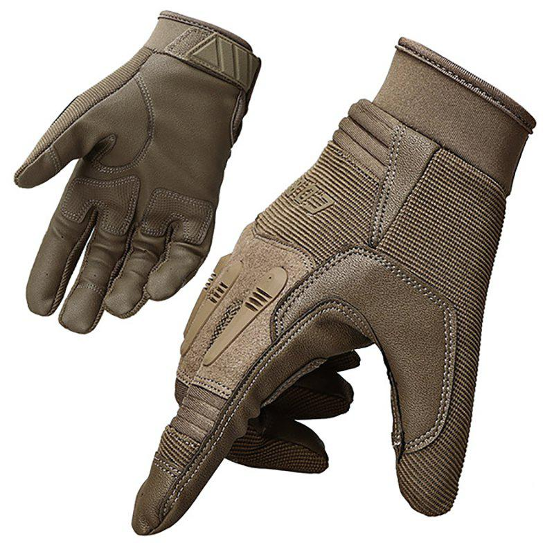 Discount Men's Tactical Mountaineering Non-slip Breathable Wear-resistant Outdoor Gloves