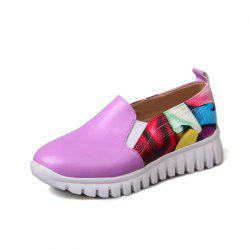 Students Crash Colors Mosaic Casual Shoes Flat Shoes -