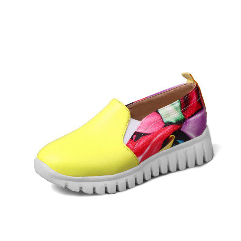 Buy Students Crash Colors Mosaic Casual Shoes Flat Shoes