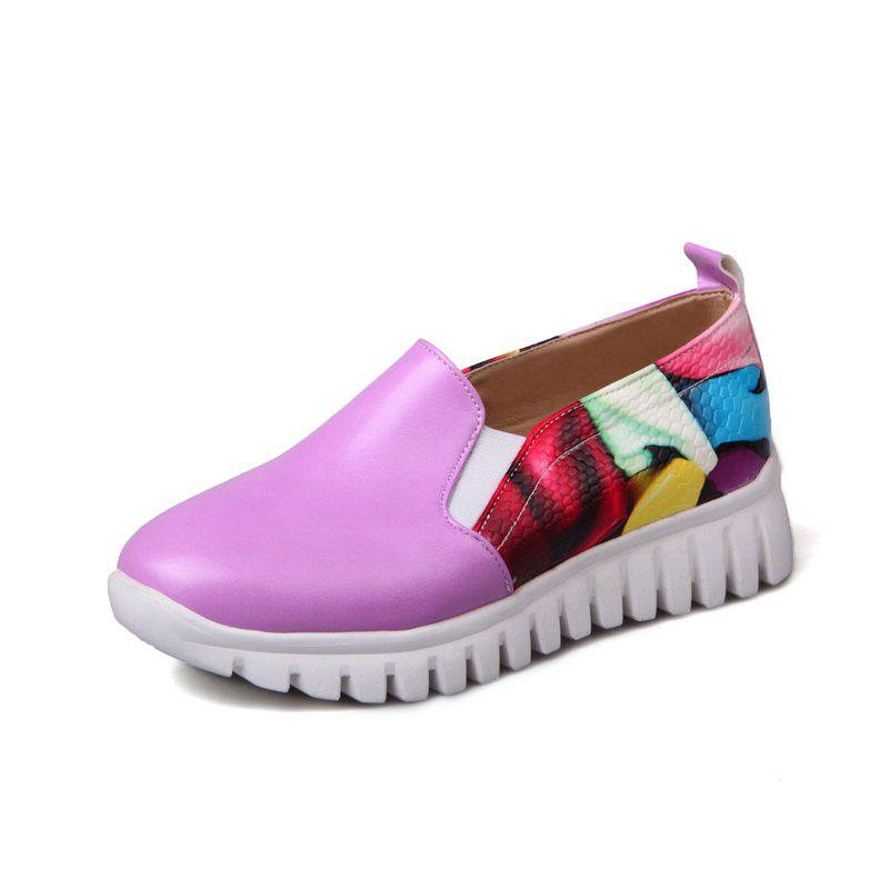 Outfits Students Crash Colors Mosaic Casual Shoes Flat Shoes