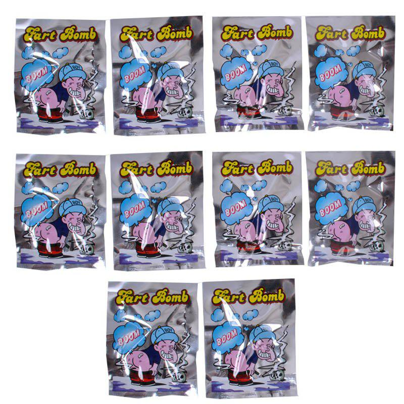 Fart Bomb Package Stink Joke Toys 10PCS