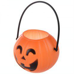 Pumpkin Trick Treat Loot Sweet Candy Barrel -