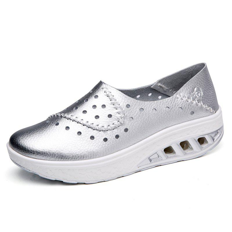 Outfits New Leather Fashionable and Breathable Cave Shoes and Casual Women'S Shoes