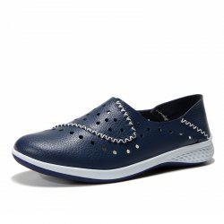 New Hollowed Out Comfortable Leather Shoes -