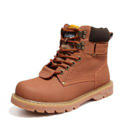 Women'S Winter Non-Slip Wear-Resistant Fashion Versatile Tooling Martin Boots -