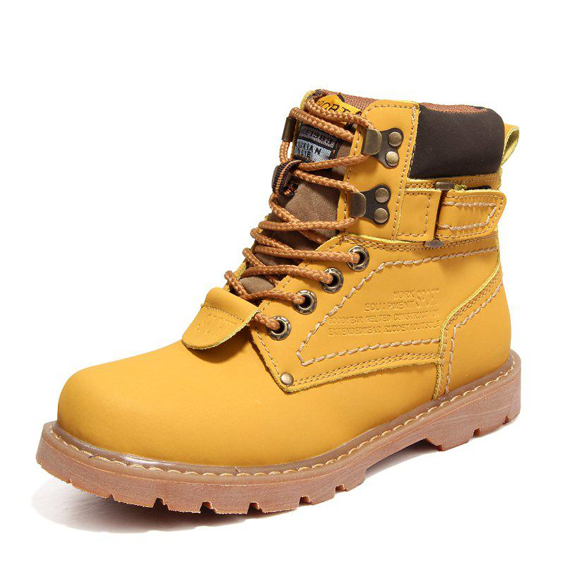 Shops Women'S Winter Non-Slip Wear-Resistant Fashion Versatile Tooling Martin Boots