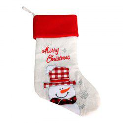 Cartoon Pattern Decoration Christmas Sock -