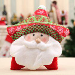 Christmas Pillow Lovely Cases Sofa Seat Back Home Decorative Cover+Pillow Core -