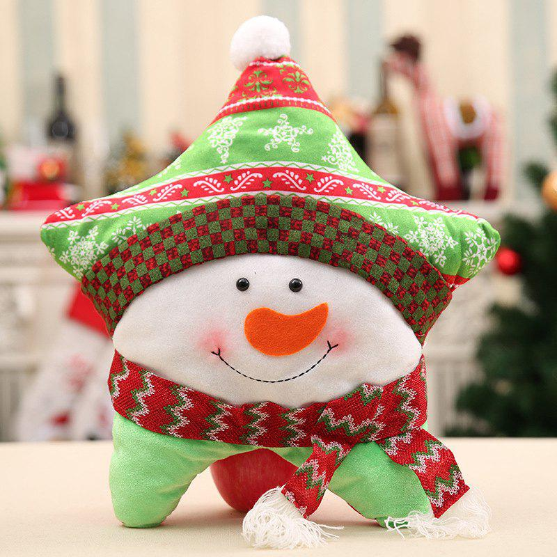 Outfit Christmas Pillow Lovely Cases Sofa Seat Back Home Decorative Cover+Pillow Core