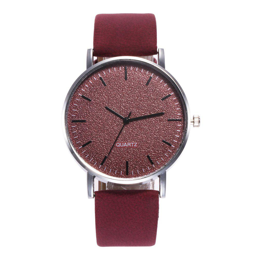 Affordable Neutral Grind Arenaceous Contracted Scale Quartz Watch
