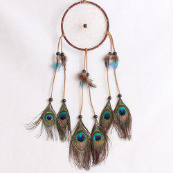 Lace Dream Catcher Feather Bead Hanging Decoration Ornament Gift -