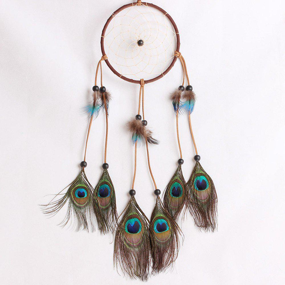 Best Lace Dream Catcher Feather Bead Hanging Decoration Ornament Gift