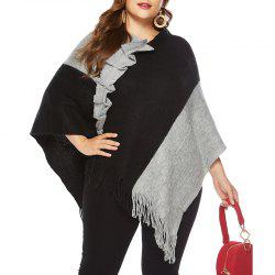 Autumn Big Suit Women'S Coloring Sweater Shawl -