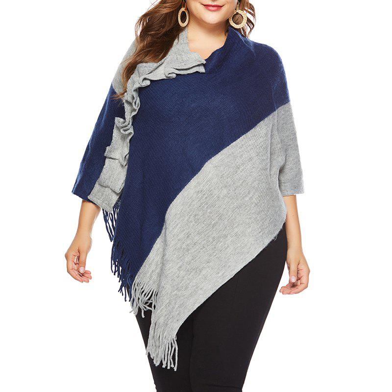 Buy Autumn Big Suit Women'S Coloring Sweater Shawl