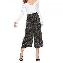 Winter Casual Leisure Woolen Skirt Pants Nine Pants -