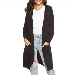 Autumn Long Cardigan Split and Thickened Sweater Coat -