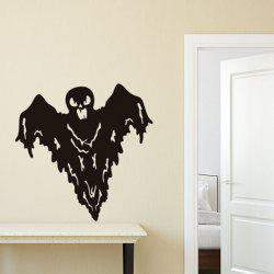 New Halloween HALLOWEEN Grimace Bat Wall Sticker Removable Decoration -