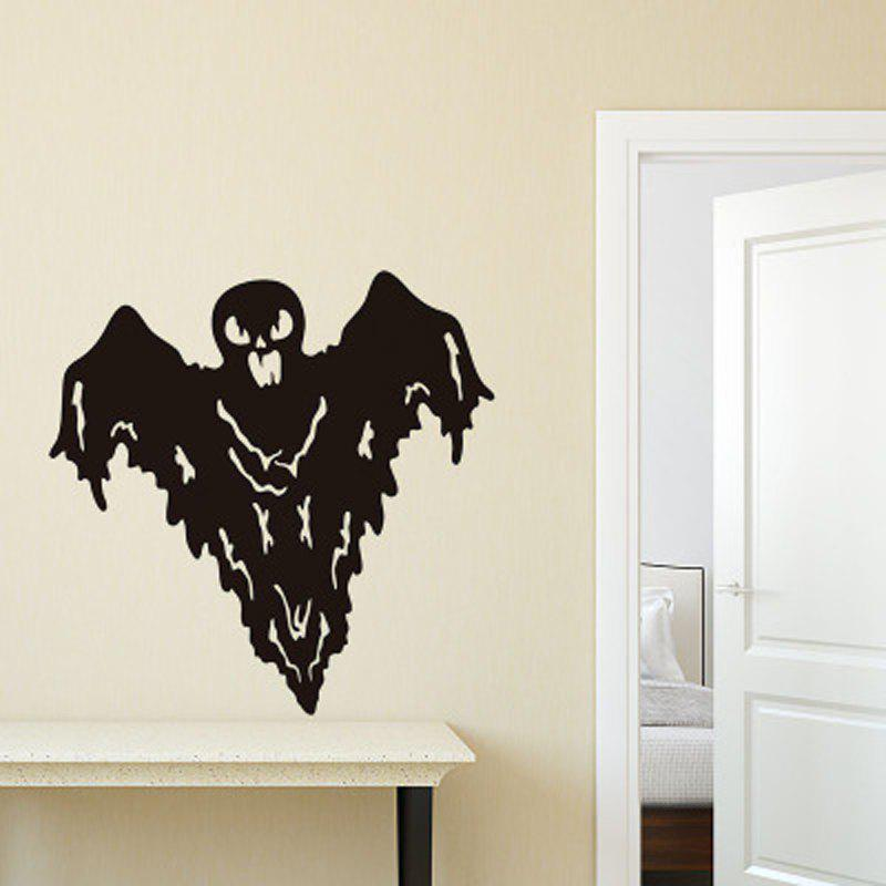 Outfit New Halloween HALLOWEEN Grimace Bat Wall Sticker Removable Decoration