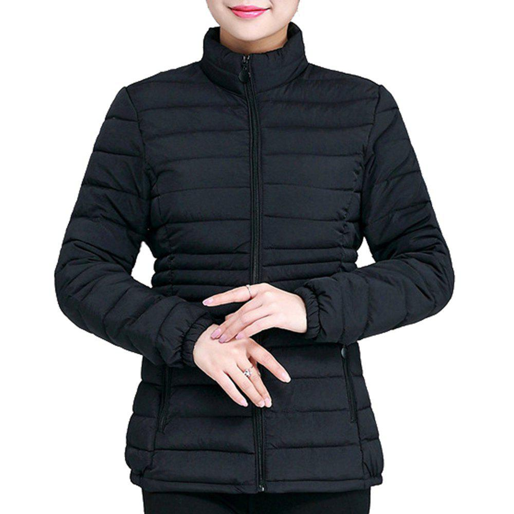 6bed5c33bd2 51% OFF   2018 Plus Size Women Winter Jacket Outerwear Cotton Padded ...