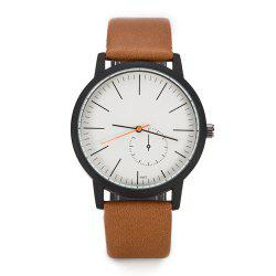 FEIFAN Brand Watches Men'S Fashion Leather Quartz Watches Waterproof Case 2018 -