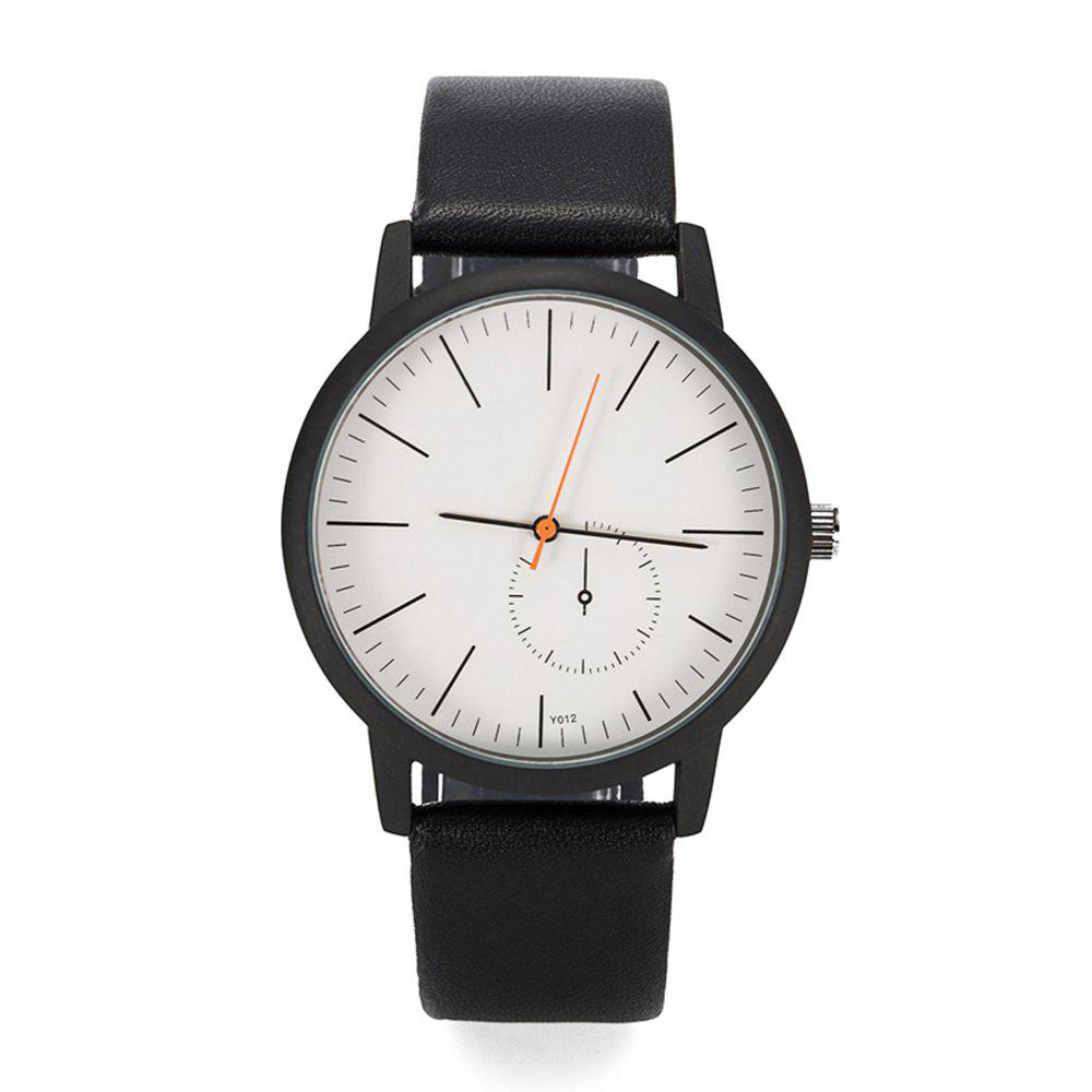 Outfit FEIFAN Brand Watches Men'S Fashion Leather Quartz Watches Waterproof Case 2018