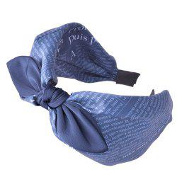 European and American pop fashion bow Headband -