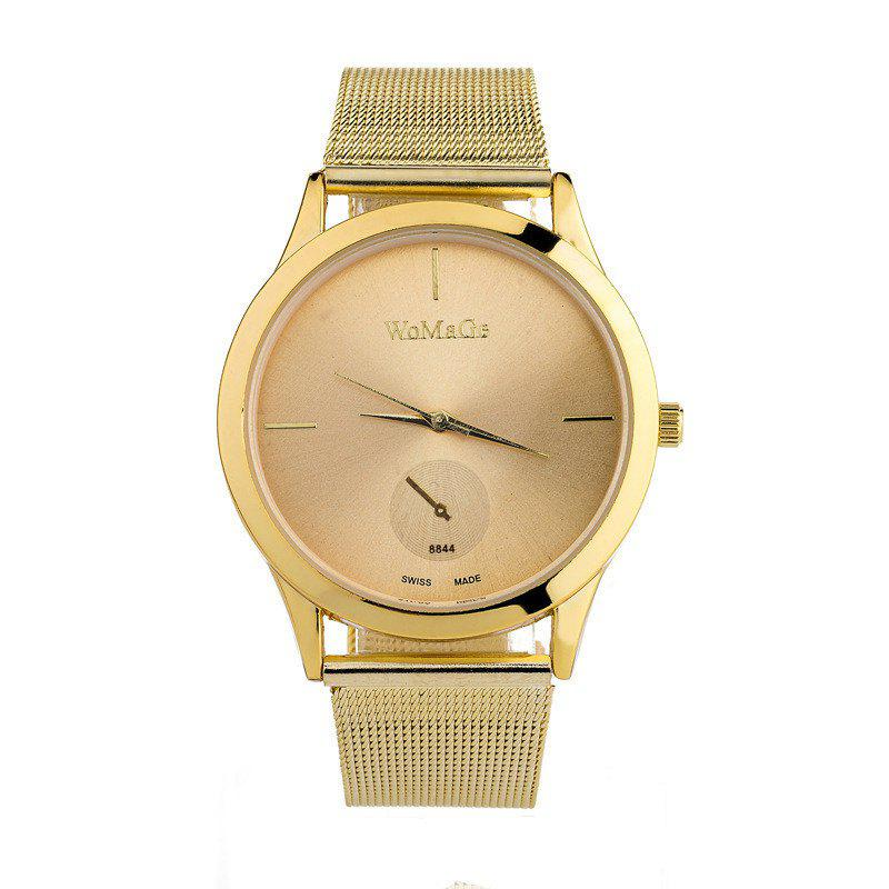 Outfits New Fashion Men and Women Net with Business Scale Quartz Watch