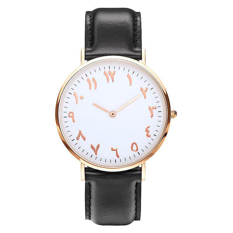New New Super Thin Two Pin Fashion Personality Tadpole Quartz Watch