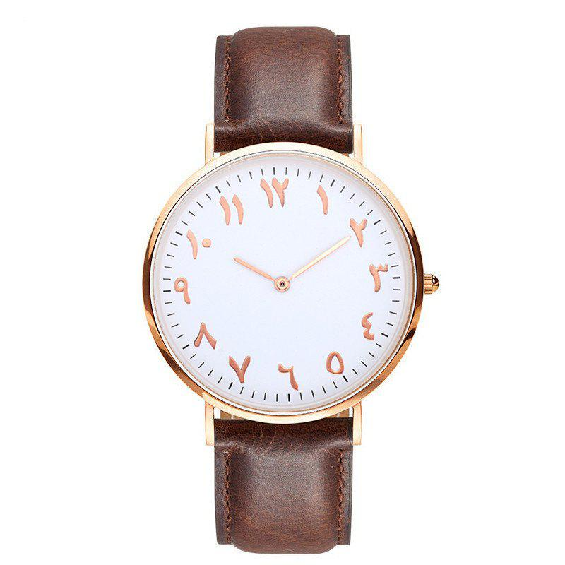 Outfit New Super Thin Two Pin Fashion Personality Tadpole Quartz Watch