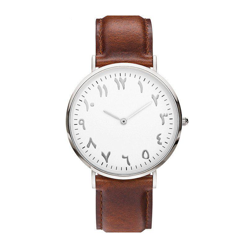 Affordable New Super Thin Two Pin Fashion Personality Tadpole Quartz Watch