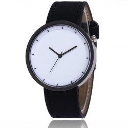 New Fashion Lady Simple Scale Dial Casual Student Quartz Watch -