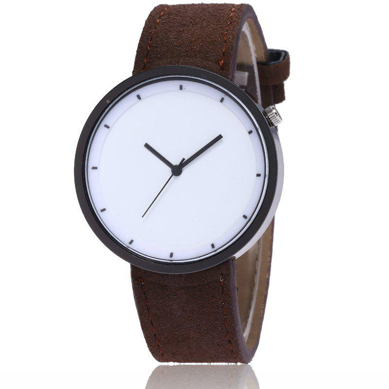 Trendy New Fashion Lady Simple Scale Dial Casual Student Quartz Watch
