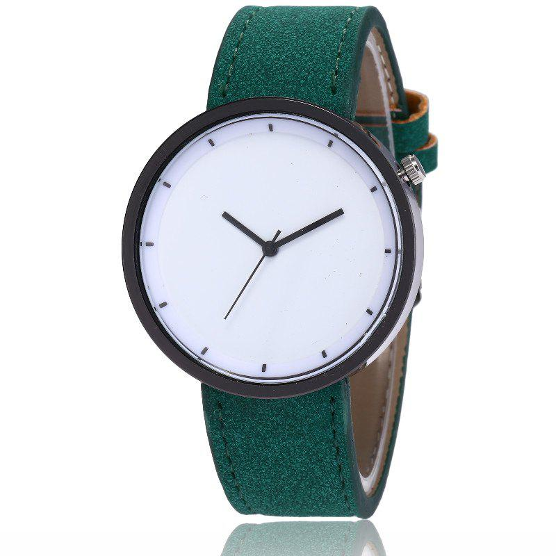 Cheap New Fashion Lady Simple Scale Dial Casual Student Quartz Watch