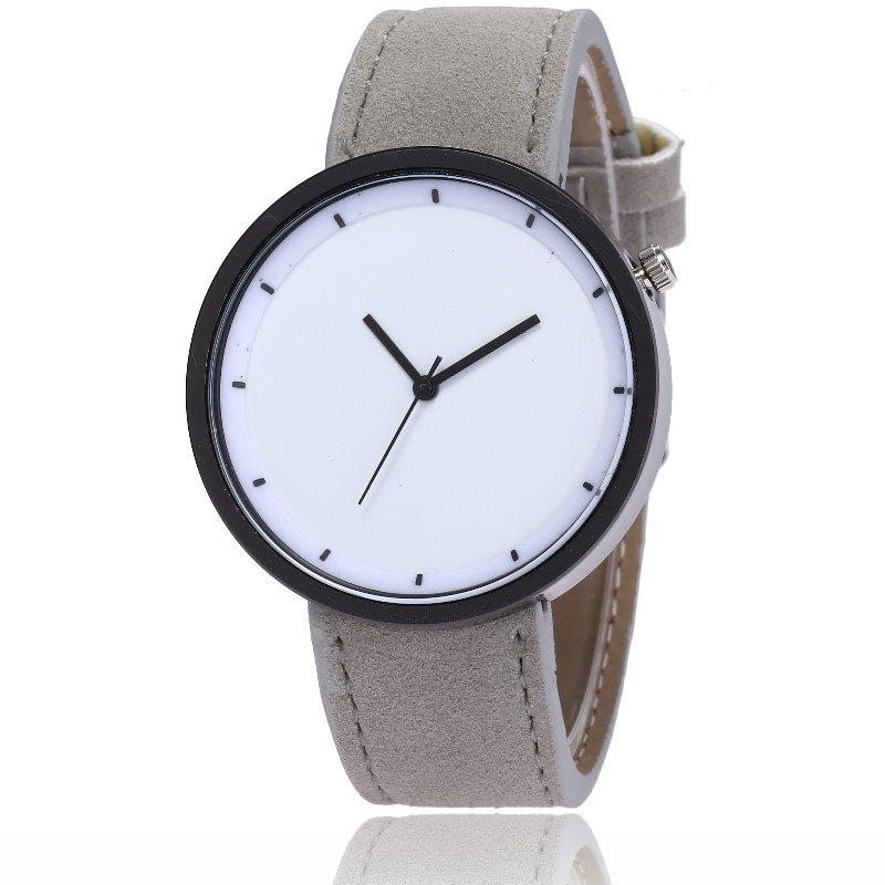 Outfit New Fashion Lady Simple Scale Dial Casual Student Quartz Watch
