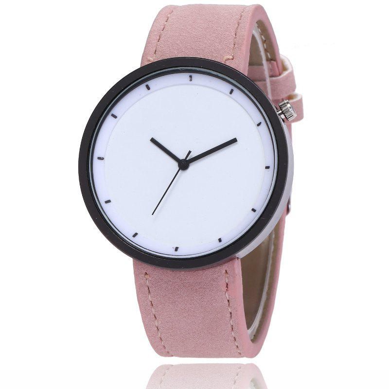 Best New Fashion Lady Simple Scale Dial Casual Student Quartz Watch