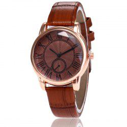 New Fashion Lady Candy Color Simple Rome Dial Casual Student Quartz Watch -